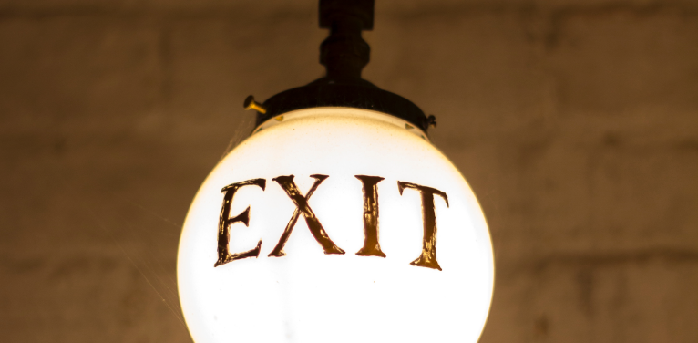 Delivering a Presentation - Your Exit Plan